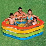 "Детский надувной бассейн Intex ""Краски лета"" Summer Colors Pool, фото 3"