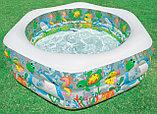 """Надувной бассейн """"аквариум"""", """"Риф"""" с надувным дном Intex, фото 3"""