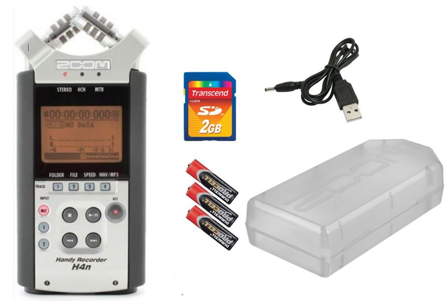 Zoom H4N Звука-Рекордер диктофон (версия 2015 года)