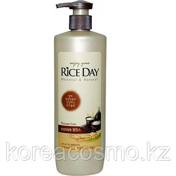 """Кондиционер """"Rice Day"""" для поврежденных и окрашенных волос,550мл с дозатором"""