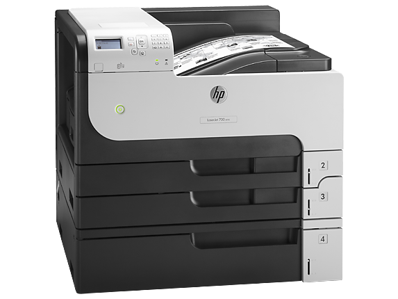 HP CF238A Принтер лазерный черно-белый (А3) LaserJet Enterprise 700 M712xh