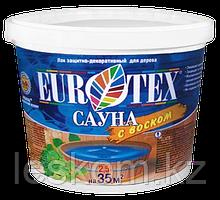 ЕВРОТЕКС-САУНА лак защитно-декоративный 0,9