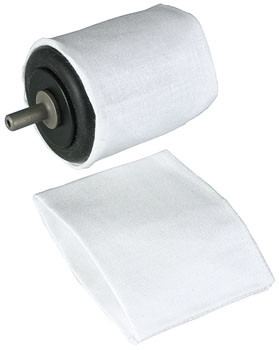 Ткань полиров. для KJ140,цил. D42*40мм, 2шт, KJ841