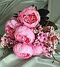 Букет розовых пионов (искусственный)
