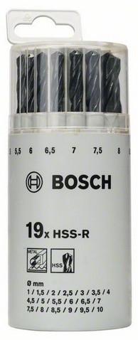 19 HSS-R СВЕРЛ 1-10ММ (2607018355)