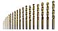 19 HSS-R СВЕРЛ 1-10ММ (2607018355), фото 2