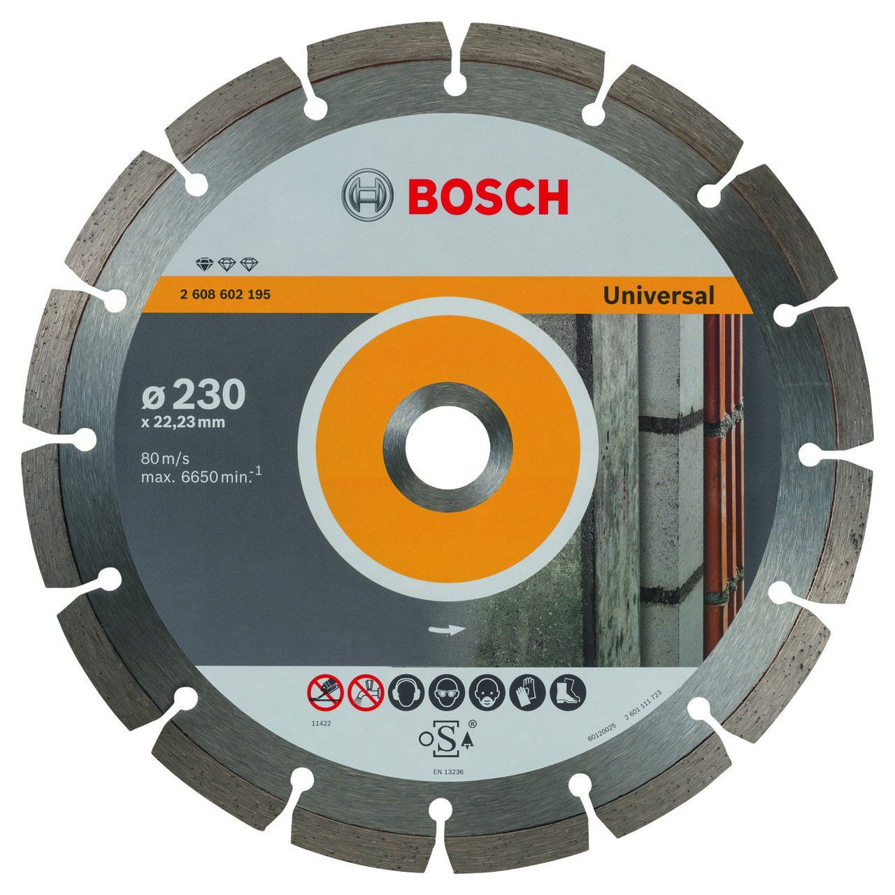 (2608602195) Алмазный диск Professional for Universal230-22,23