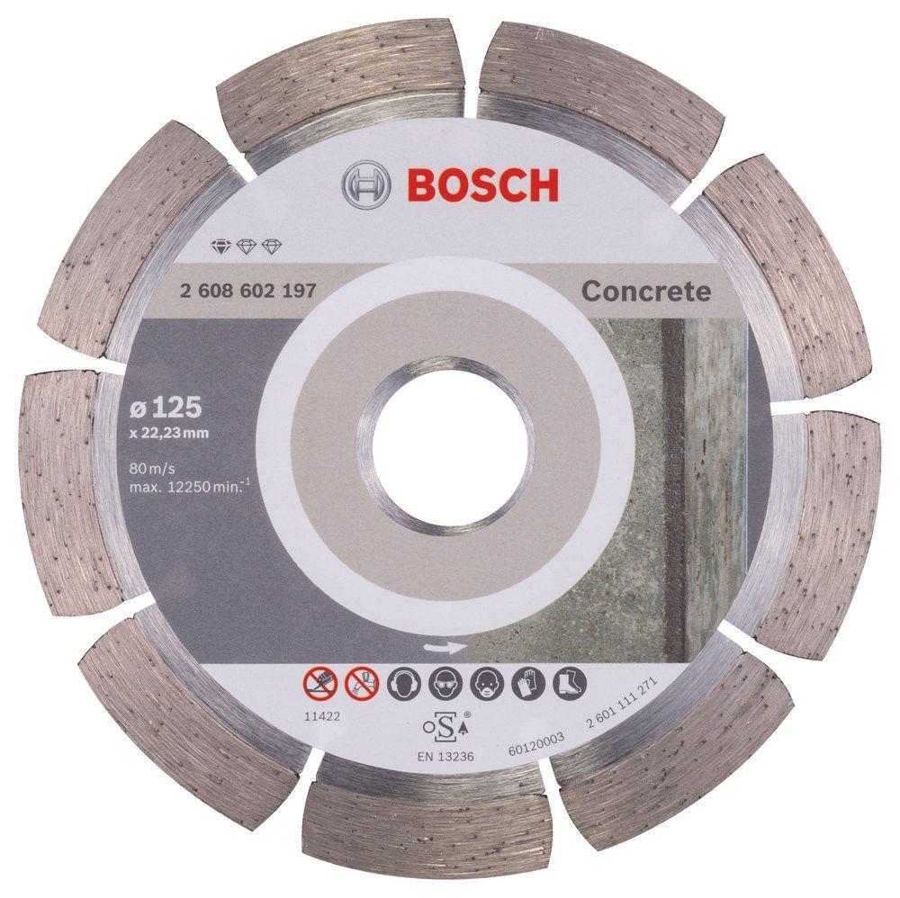 (2608602197) Алмазный диск Professional for Concrete125-22,23