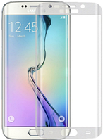 Противоударное защитное стекло Crystal на Samsung Galaxy S7 edge G935 (белый)