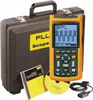 FLUKE 123/S - осциллограф-мультиметр (скопметр) цифровой запоминающий + набор принадлежностей SCC120