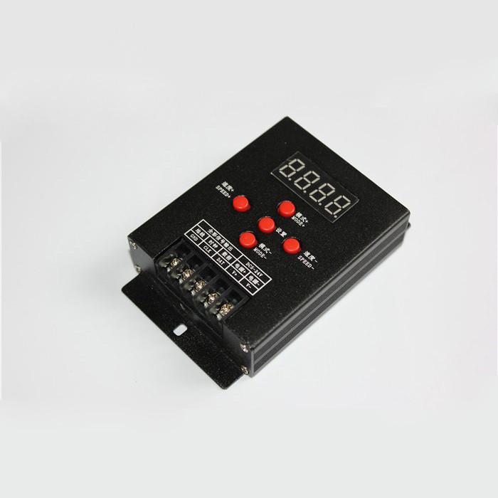 Пиксельный контроллер Т-500 до 512 пикселей 360W(30A), 12V