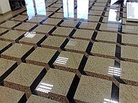 Шлифовка и полировка гранитного пола 2-4 мм
