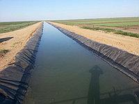Гидроизоляция оросительных каналов и сборных траншей