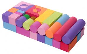 Игровой набор 49 блоков
