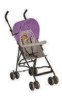 Детская коляска трость Lorelli Light  Бежево-фиолетовый / Biege&Violet 1542