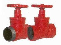 Пожарный кран КПК-65 прямой (чугунный)