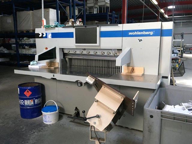 Wohlenberg 115 TS / Perfecta 115TS - бумагорезательная машина б/у 2008г