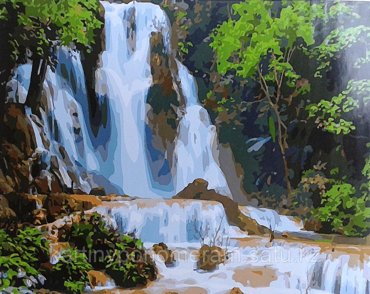 """Картина по номерам """"Водопад 6"""""""