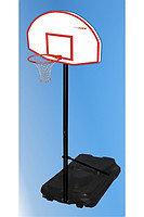 Баскетбольный щит тренировочный всепогодный 80х120 см на стойке
