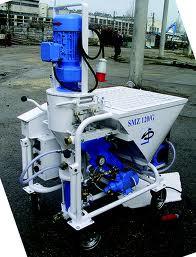 Штукатурная станция (штукатурный агрегат)