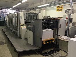 Sakurai Oliver 575 SD б/у 2007г - пятикрасочная печатная машина