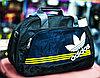"Спортивная сумка ""ADIDAS"", средняя 43х17х27 см (черная)"