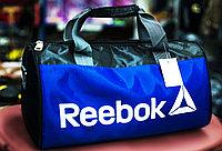 "Спортивная сумка ""REEBOK"", маленькая 37х20х20 см (черная)"