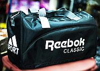 """Спортивная сумка """"REEBOK"""", средняя 48х22х28 см (черная)"""