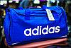 """Спортивная дорожная сумка """"ADIDAS"""", средняя 49х23х28см (синяя)"""