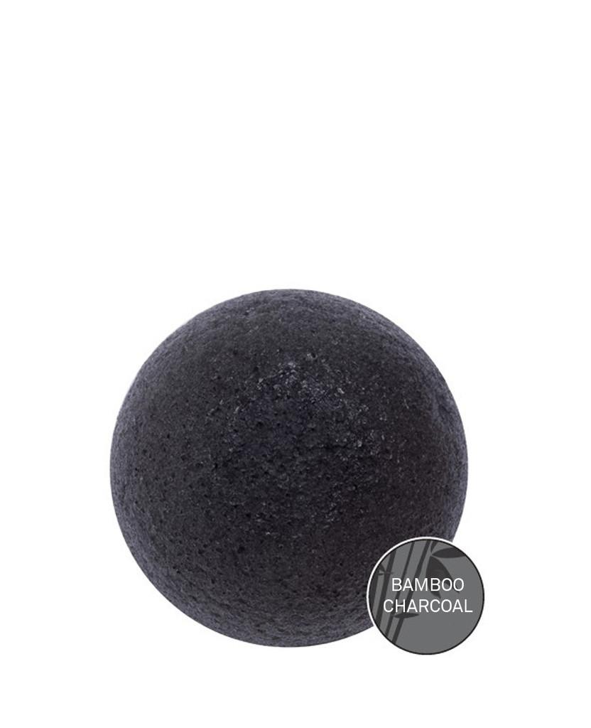 Спонж для умывания натуральный конняку Soft Jelly Cleansing Puff (Bamboo Charcoal)