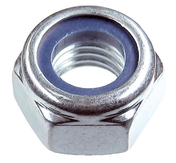 Гайка с нейлоновым кольцом DIN 985 М8