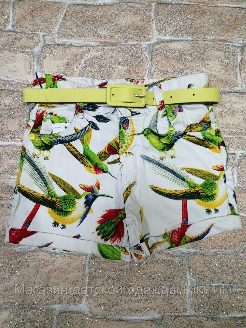 Летнии шорты для девочки