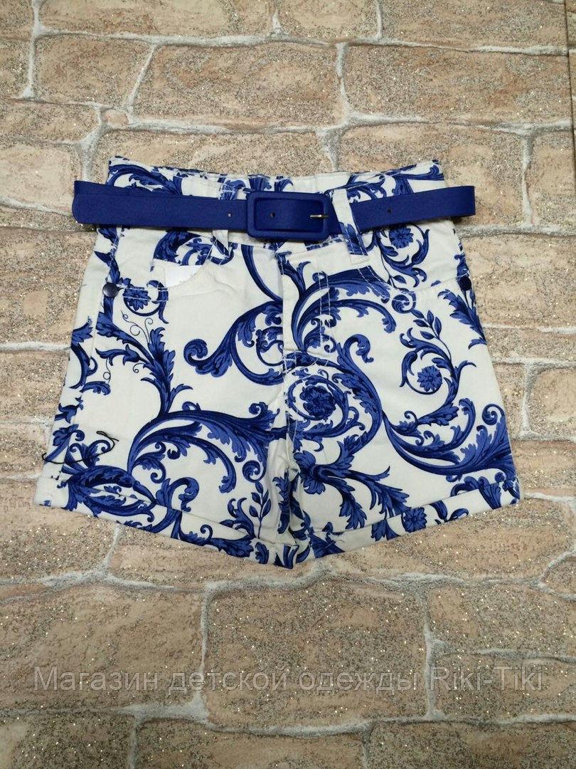 Яркие шорты для девочки на лето