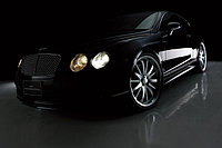 Оригинальный обвес WALD Executive line на Bentley Continental GT