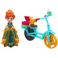 """Hasbro Disney Frozen """"Маленькое королевство"""" Анна с велосипедом и аксессуарами"""