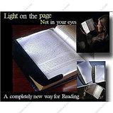 Плоская лампа для чтения книг, фото 2