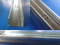 Профиль перегородочный стоечный ПС 75х50х0,60 для монтажа гипсокартона