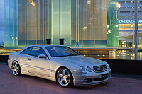 Оригинальный обвес WALD Executive Line '03 на Mercedes-Benz CL W215
