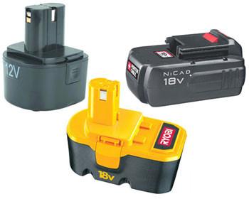 Батареи для шуруповертов