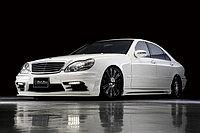 Оригинальный обвес WALD Black Bison '03~ на Mercedes-Benz S-class W220, фото 1