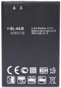 Заводской аккумулятор для LG L40 D160 (BL-44JR, 1500mAh)