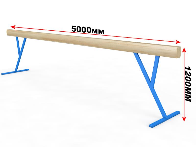 Бревно гимнастическое 5 м