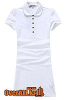 Платье поло белое, фото 1