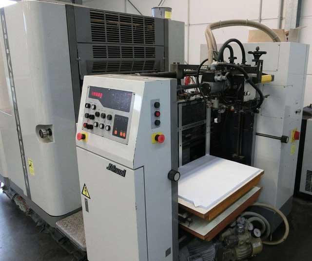 Sakurai Oliver 266EZP б/у 2001г - двухкрасочная печатная машина