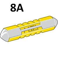 Предохранитель цилиндрический 8A