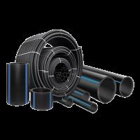Труба ПЭ  Ø160х7,7 мм SDR21 (8 атмосфер)