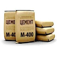 Цемент М-400 Д20 Портланд в мешках, 50 кг