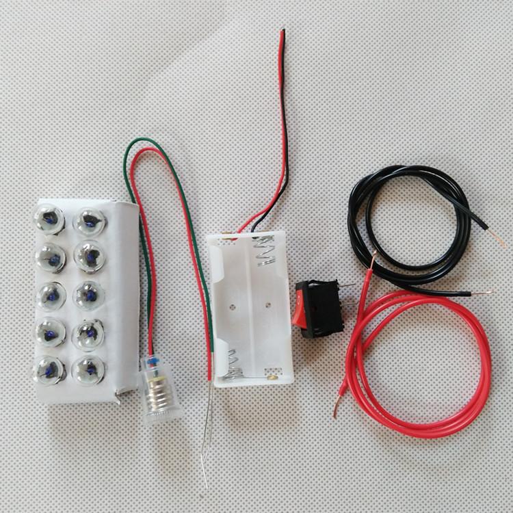Набор - электрической цепь, для школьников