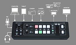 Портативный HD видеомикшер Roland V-1HD с 4 входом HDMI