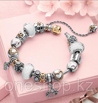 Браслет Pandora + Серьги Dior в подарок - фото 2